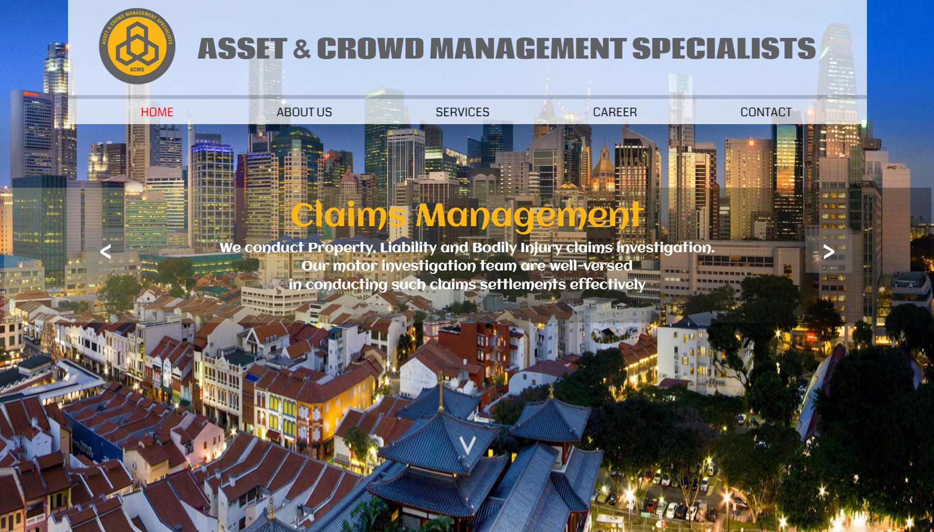 Asset & Crowd Management Specialists